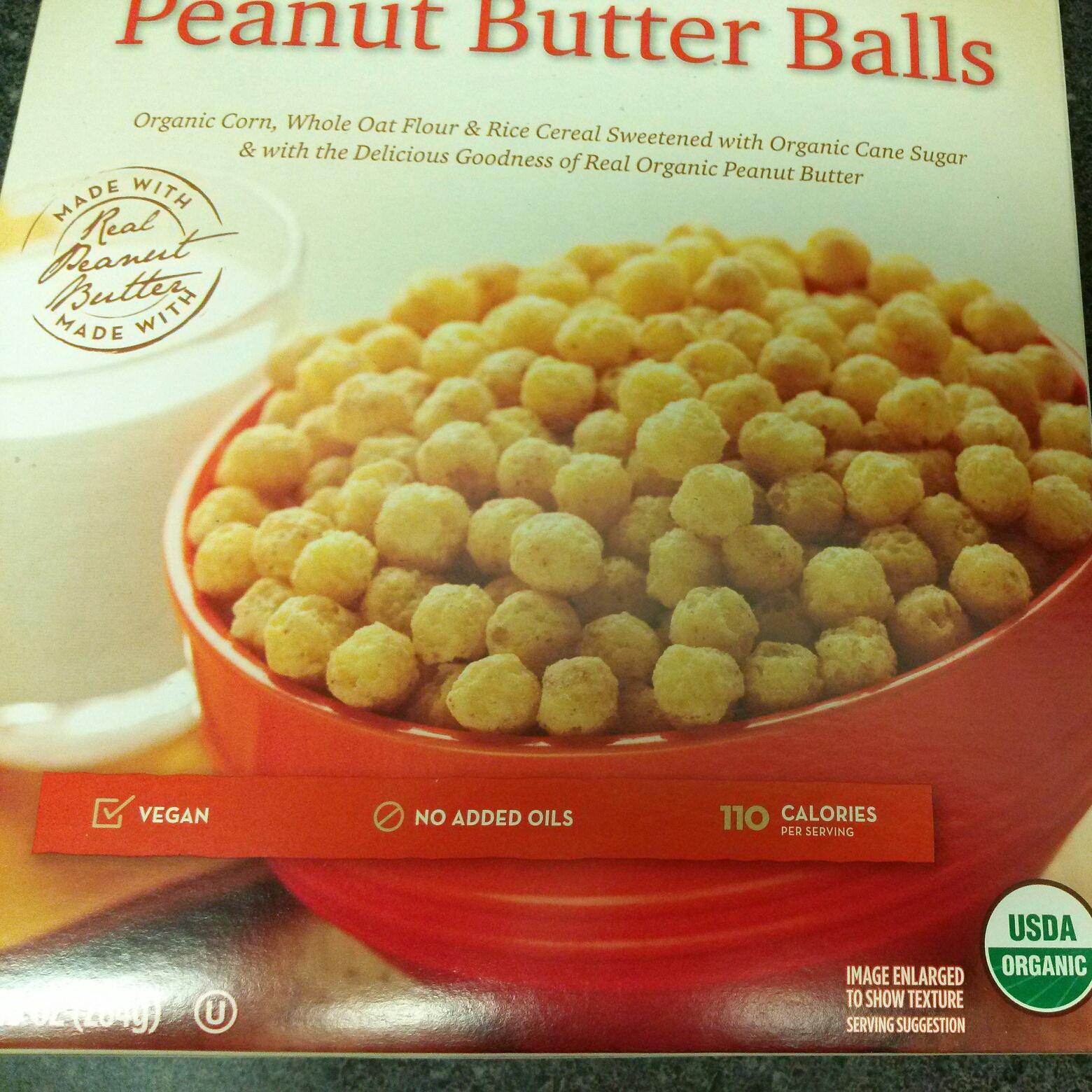 365 Organic Peanut Butter Balls