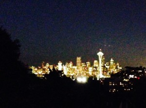 From the Queen Anne lookout point.