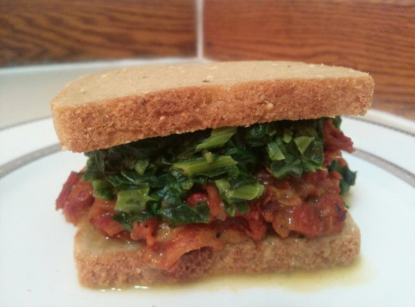 Jerk Sloppy Joes with Coconut Creamed Spinach pg. 94