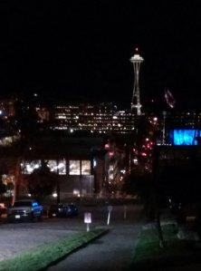 Capitol Hill's view of the Space Needle