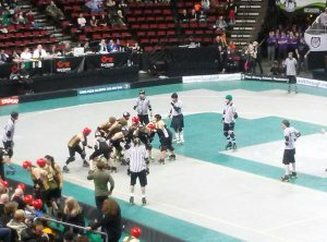 DLF vs. Throttle Rockets in  the last few minutes of a tied game!
