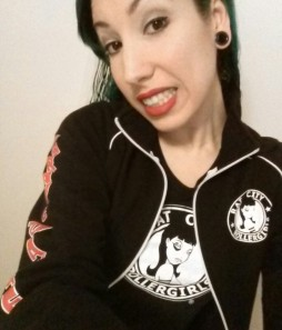 Me in all my Rat City/Grave Danger gear!