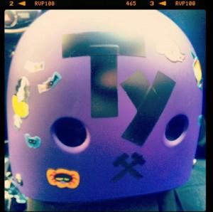 My 1st helmet.