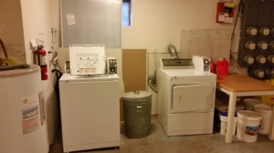 Still stuck with a laundry room downstairs.